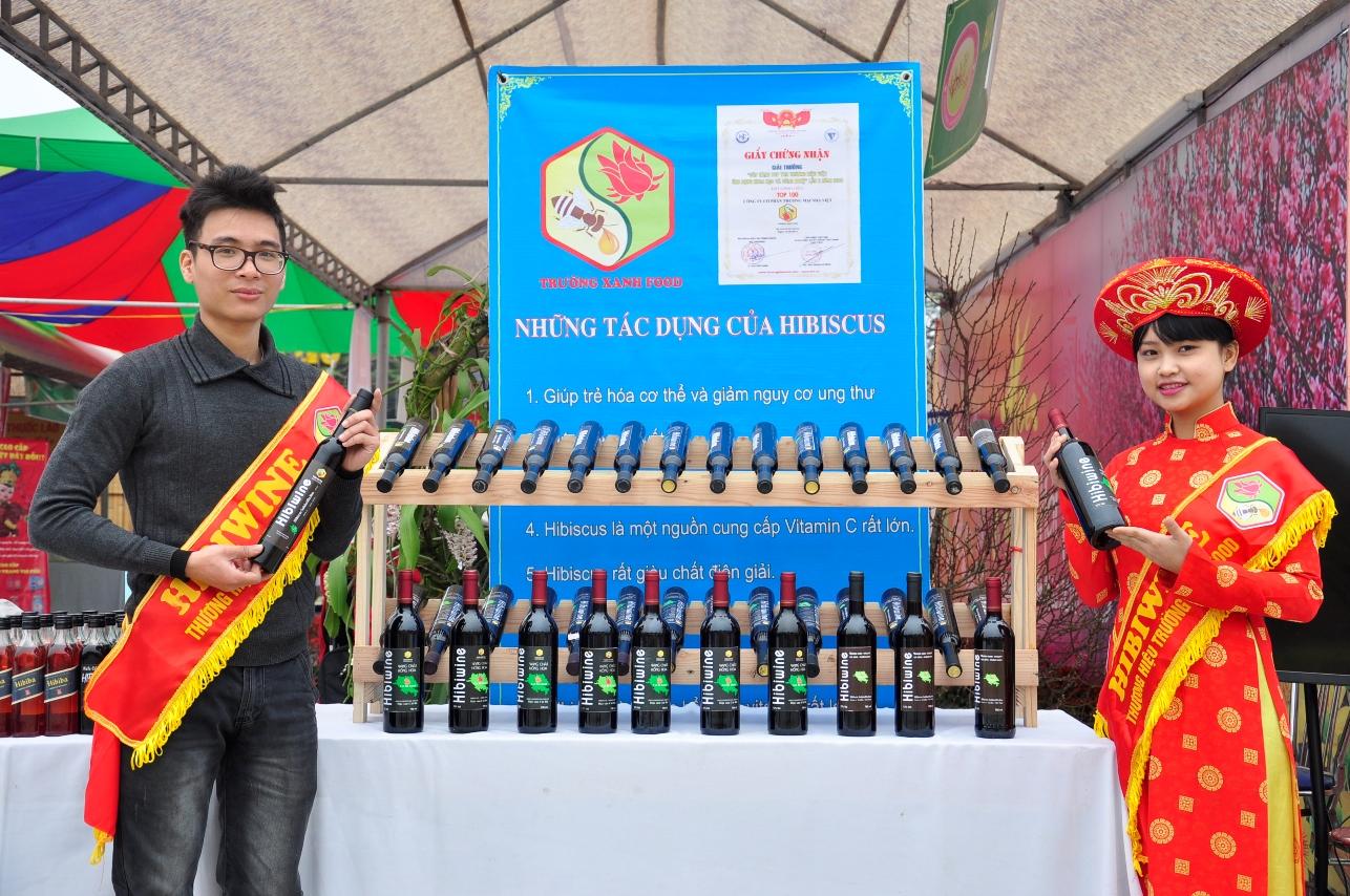 Rượu Hibiwine 750ml